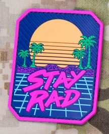 Mil-Spec Monkey Patch - Stay Rad PVC