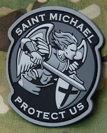 Mil-Spec Monkey Patch - Saint Michael Modern PVC