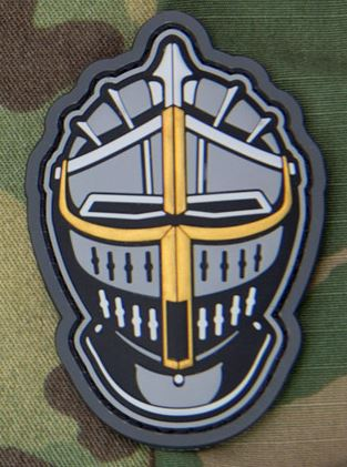 Mil-Spec Monkey Patch - Knight Head 1 PVC