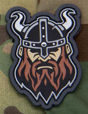 Mil-Spec Monkey Patch - Viking Head 1 PVC