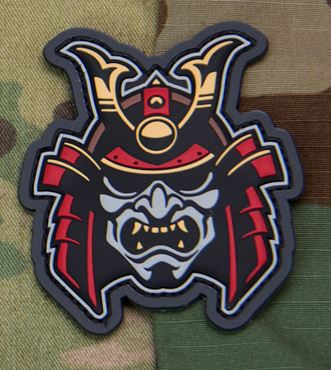 Mil-Spec Monkey Patch - Samurai Head 1 PVC - Full Color