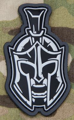 Mil-Spec Monkey Patch - Spartan Head 1 PVC