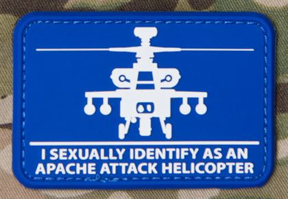 Mil-Spec Monkey Patch - Helisexual PVC