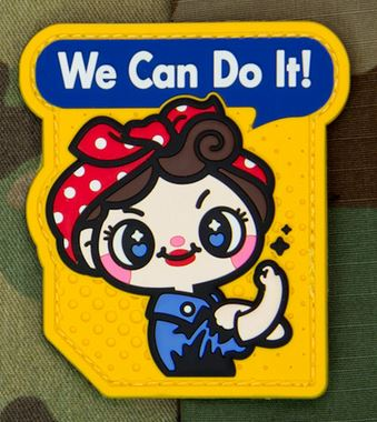 Mil-Spec Monkey Patch - We Can Do It PVC