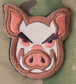 Mil-Spec Monkey Patch - Pig Head