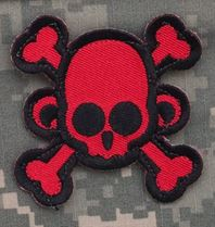Mil-Spec Monkey Patch - Skullmonkey Crossbones