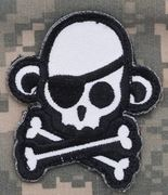 Mil-Spec Monkey Patch - Skullmonkey Pirate