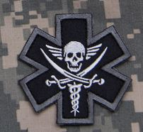 Mil-Spec Monkey Patch - Tactical Medic Pirate