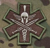 Mil-Spec Monkey Patch - Tactical Medic Spartan
