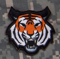 Mil-Spec Monkey Patch - Tiger Head