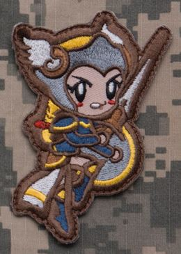 Mil-Spec Monkey Patch - Valkyrie Cute - Full Color