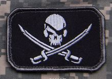 Mil-Spec Monkey Patch - Pirateskull Flag