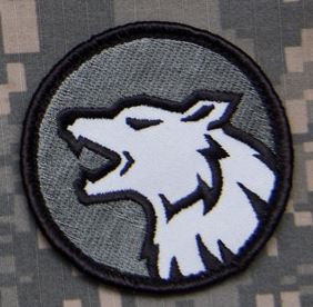 Mil-Spec Monkey Patch - Wolf Head