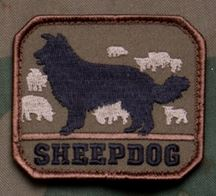 Mil-Spec Monkey Patch - Sheepdog