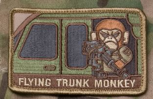 Mil-Spec Monkey Patch - Flying Trunk Monkey