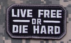 Mil-Spec Monkey Patch - Live Free or Die Hard