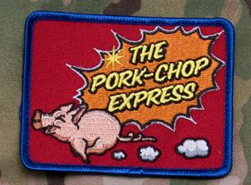 Mil-Spec Monkey Patch - Pork Chop Express