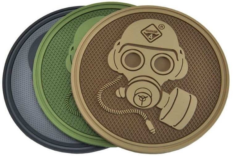 Hazard 4 Patch Special Forces Gas Mask