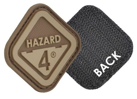 Hazard 4 Patch Diamond Shaped Logo