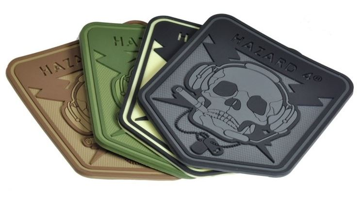 Hazard 4 Patch Operator Skull