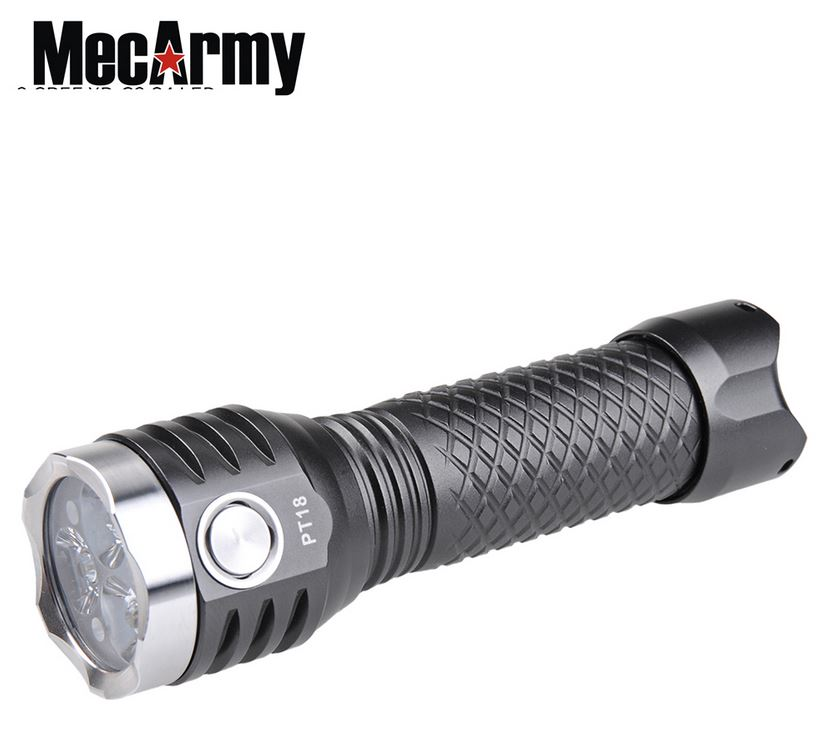 MecArmy PT8 Rechargeable Hanheld Flashlight - 1000 Lumens