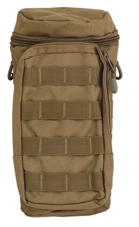 Pathfinder Water Bottle Bag w/ Shoulder Strap - Coyote Brown