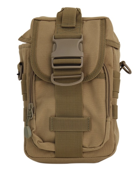 Pathfinder MOLLE Bag w/ Shoulder Strap - Coyote Brown PF-MBB