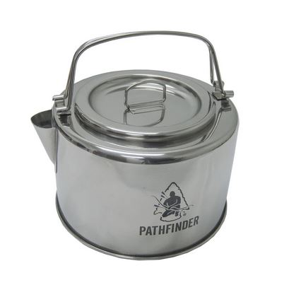 Pathfinder Stainless Steel Kettler with Filter - 1.2L