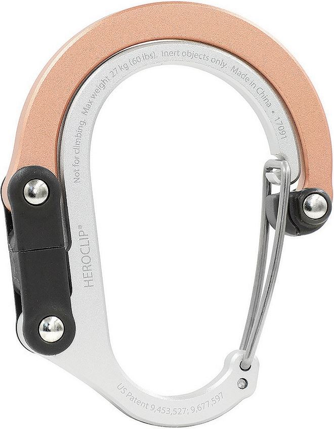 HeroClip 12156 Small Stealth Rose Gold