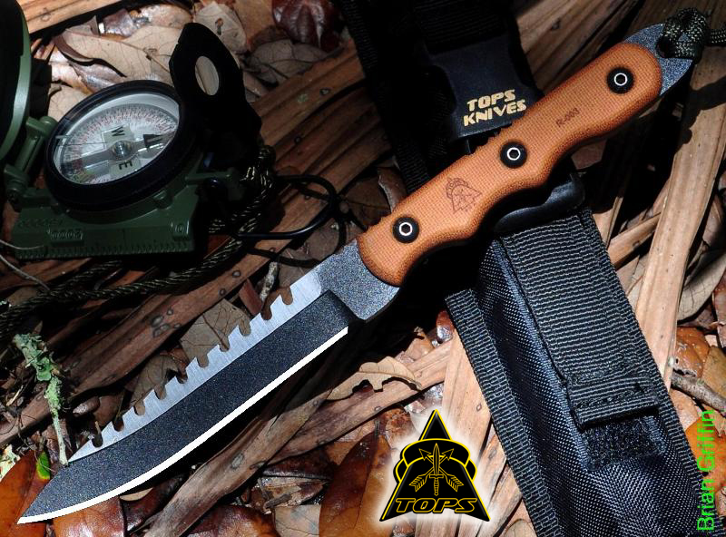 TOPS RBL02 Ranger Bootlegger 2 w/Nylon Sheath (Online Only)