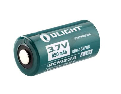 Olight RCR123A Rechargeable Lithium Ion Battery