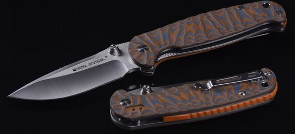 Real Steel 7783 H6 Special Edition II Satin, Orange Pattern G-10