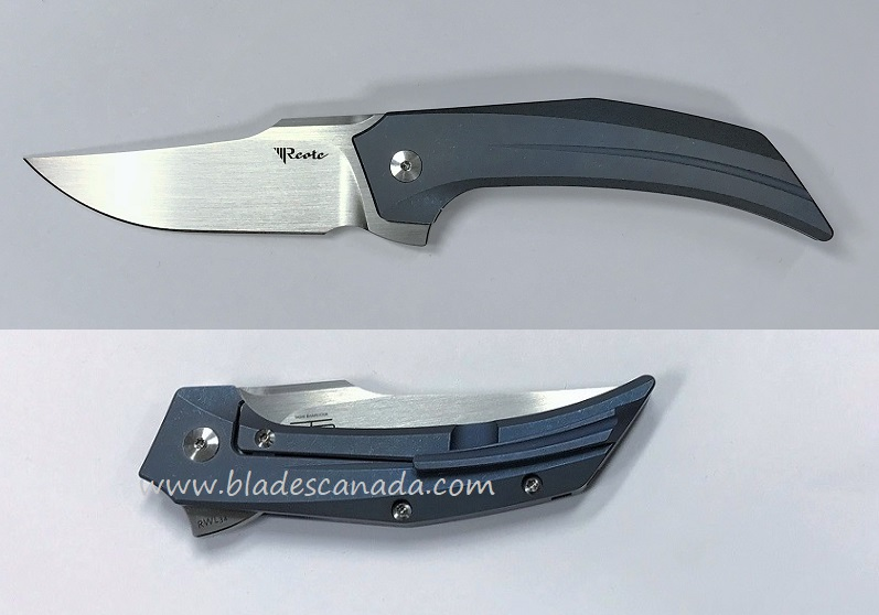 Reate Star Boy RWL34 Blue Handle - Hand Rubbed Satin
