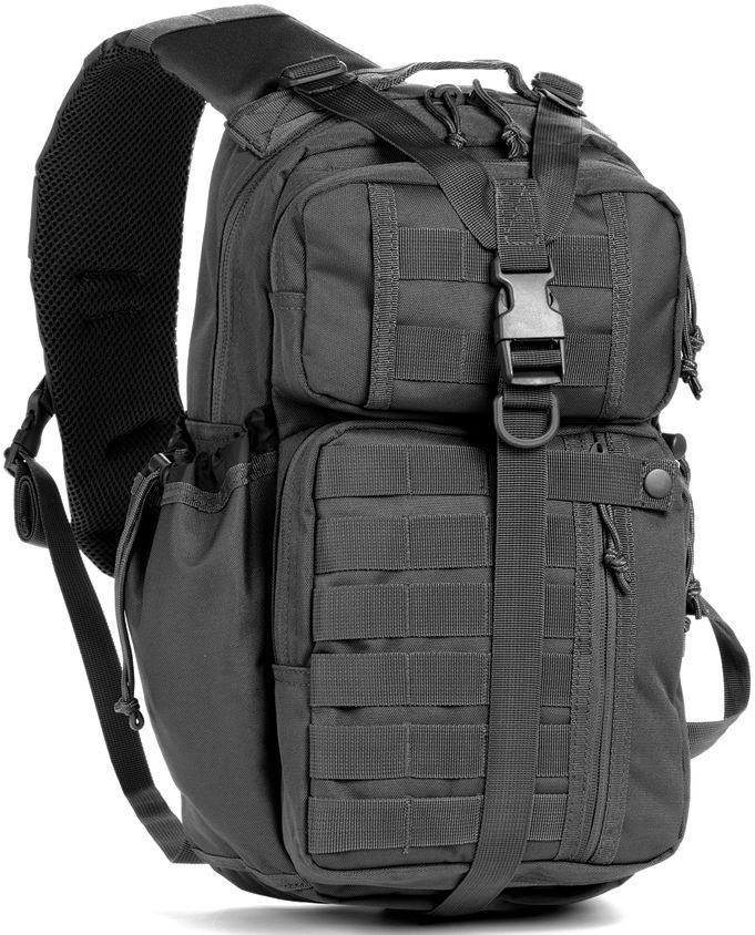 Red Rock Rambler Sling Pack - Black