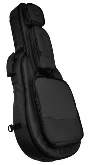 Hazard 4 Battle Axe Guitar Gun Case - Black