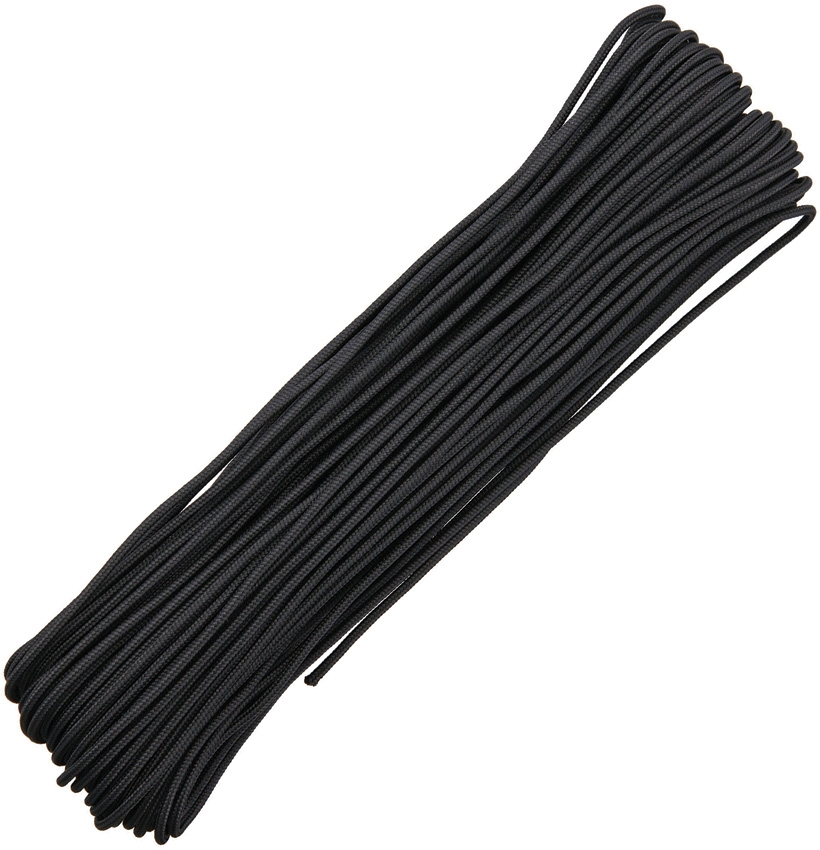 325 Paracord, 3-Strand 100Ft. - Black