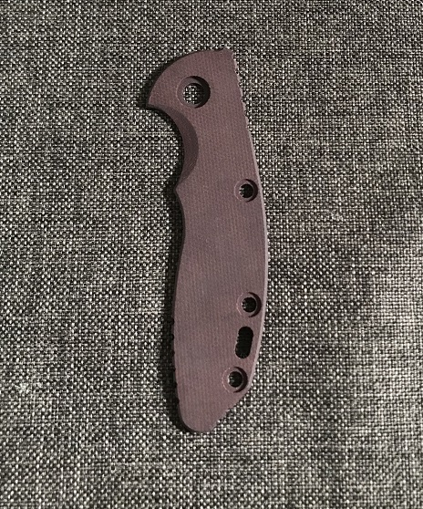 Hinderer Micarta Handle Scale for XM-18 3.0 - Smooth