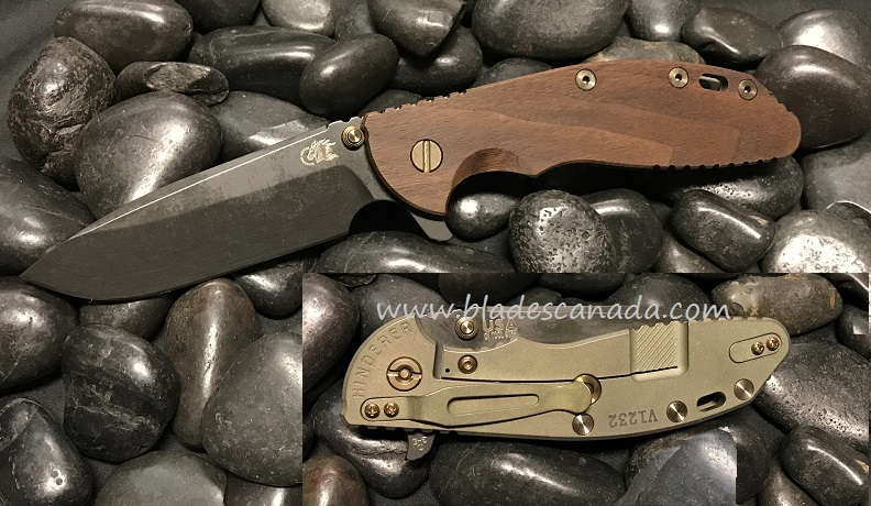 Hinderer XM-24 4.0 Gen 6 Spearpoint O-1 Vintage - Smooth Walnut