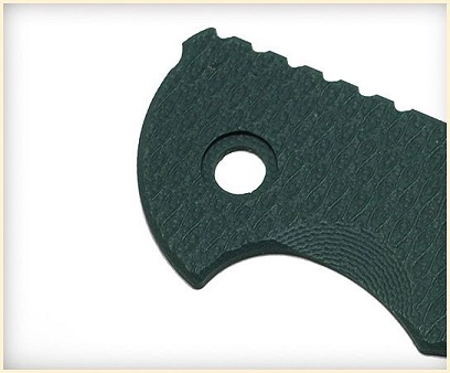 Hinderer G-10 Handle Scale for XM-18 3.0 - Dark Green