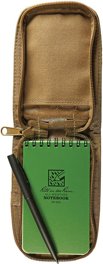 Rite in the Rain 935T Top Spiral Kit - Green Notepad/Tan Cover