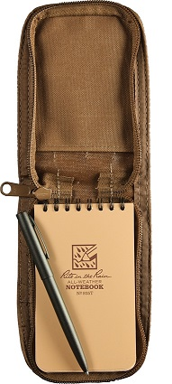 Rite in the Rain 935TKIT Top Spiral Kit - Tan Notepad/Tan Cover