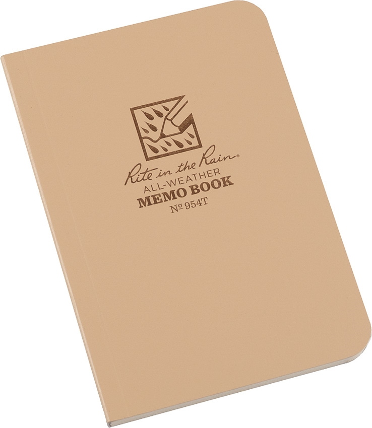 Rite in the Rain 954T Field Flex Memo Book Tan