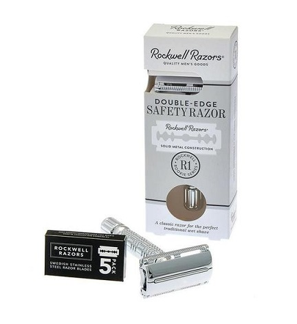 Rockwell Razors R1 Double Edge Razor Rookie Series