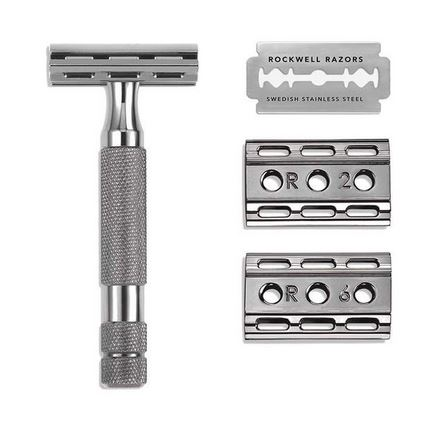Rockwell Razors 6C Adjustable Safety Razor- Gunmetal