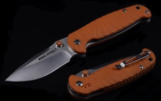 Real Steel 7781 H6 Special Edition II Satin, Orange G-10