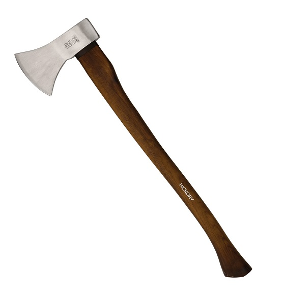 Ruthe Standard Axe with Hickory Wood Handle 27.5""