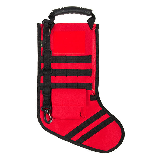 Ruck Up Tactical Christmas Stocking - Fire Red (Online Only)