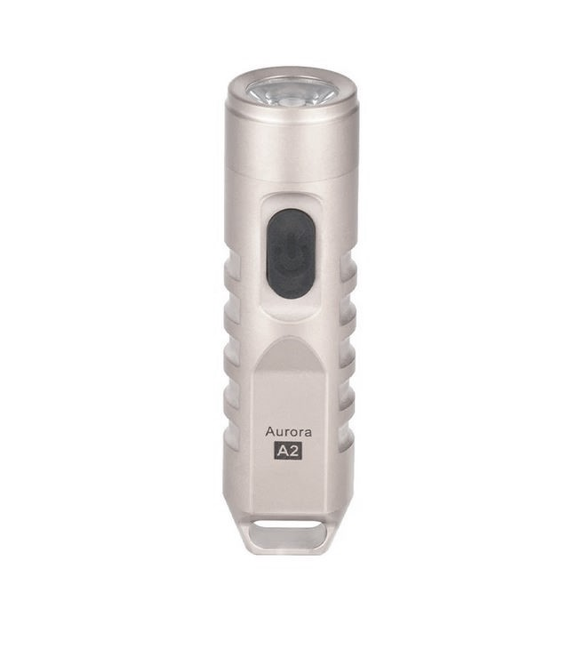 Rovyvon Aurora A2SND Stainless Steel Flashlight - 550 Lumens