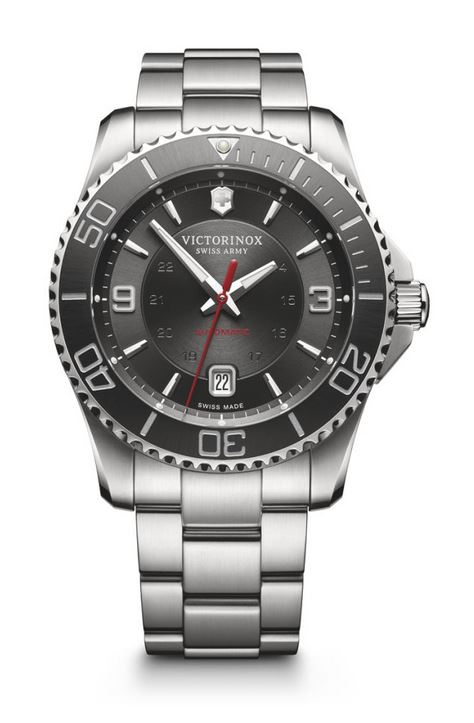 Victorinox Maverick Mechanical SS Bracelet - Grey
