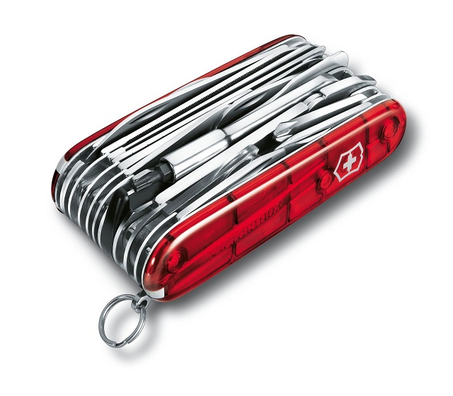 Swiss Army Swiss Champ XLT Multi-Tool - Red Transparent